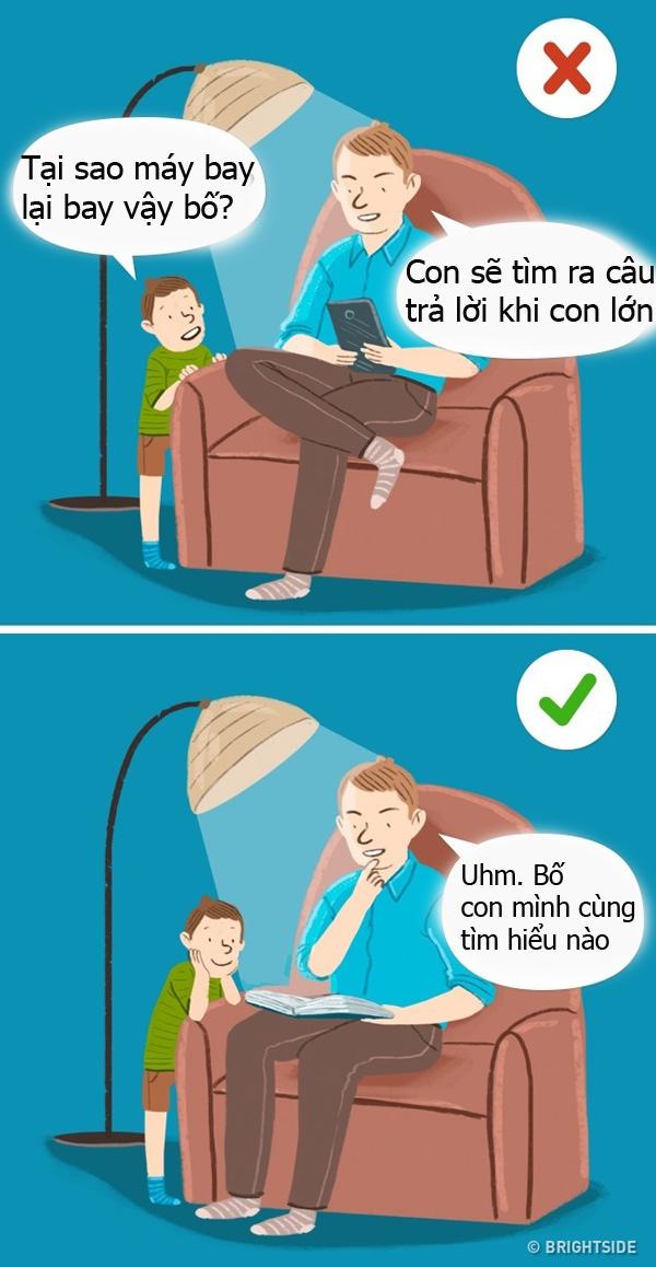 7 câu mẹ nào cũng nói nhưng sai bét, 7 câu nói, dạy con thông minh