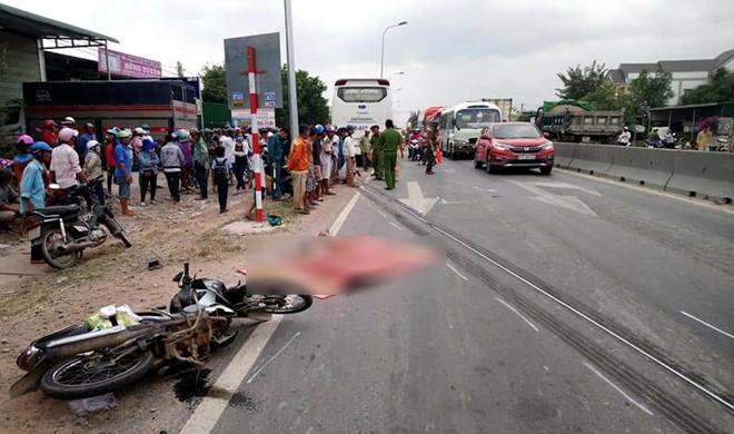 tai nạn, tai nạn thương tâm khiến 2 mẹ con tử vong, mẹ chở con đi thi học kỳ thì tử vong do tai nạn