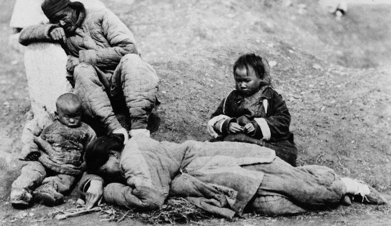 thảm kịch cha làm thịt con, thảm kịch ăn thịt người, nạn đói ở trung quốc