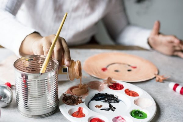cho con học vẽ
