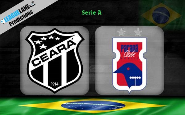Nhận định Ceara vs Parana