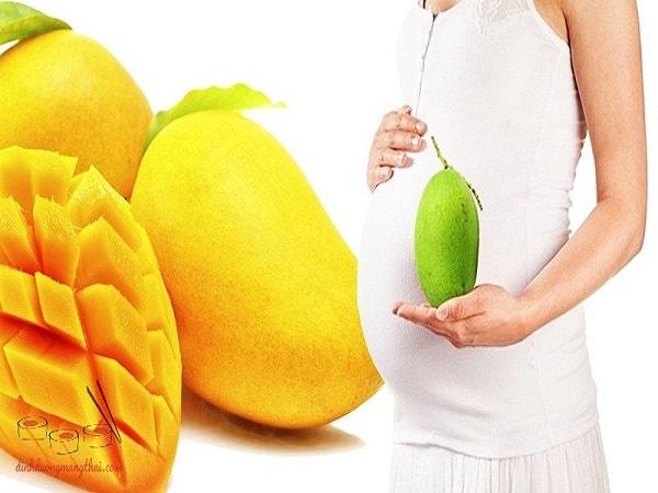 Bổ sung chất dinh dưỡng mẹ bầu nên ăn xoài