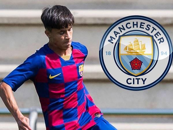 Vượt mặt MU, Arsenal và Liverpool, Man City 'cuỗm' sao trẻ Barca