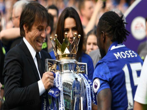 Inter gửi trò cưng Moses và Conte từng thành công ở Chelsea.