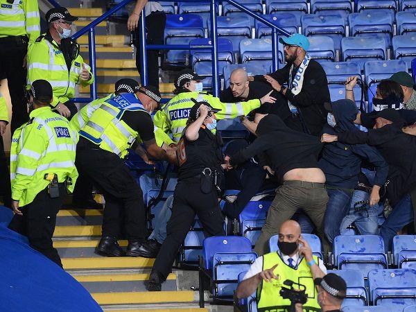 Tin thể thao 17/9: CĐV làm loạn trận đấu giữa Leicester và Napoli